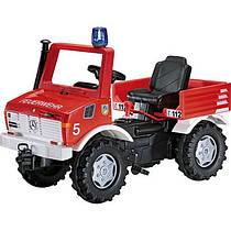 Педальная машинка Rolly Toys Rolly Farm Trac - Пожарный автомобиль