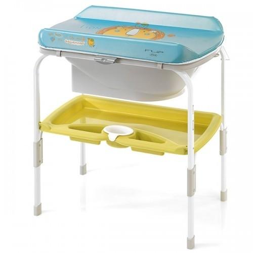 Пеленальний стіл з ванночкою Jane Flip, колір R21