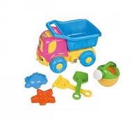 """Песочный набор Multitoys - """"Машинка"""", 6 предметов, в п/э"""