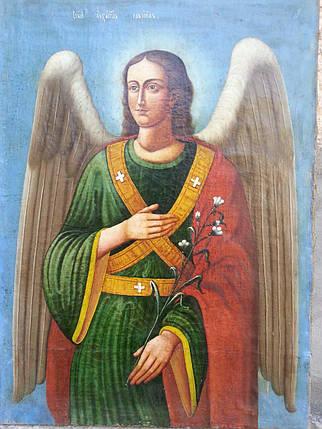 Икона архангел Гавриил 19 век, фото 2