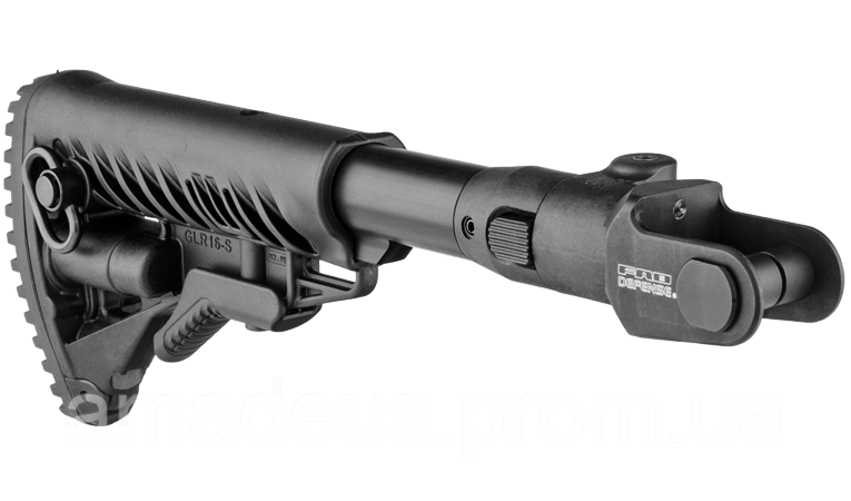 M4AKMS Приклад телескопический FAB, для АКМС (складной вниз), черный