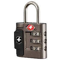 Замок кодовый TSA Victorinox Travel Accessories 4.0 (3x6x2см), серый 311700.01