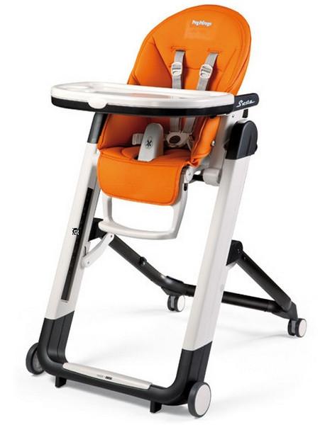 Стульчик для кормления Peg-Perego Siesta PL38, цвет оранжевый