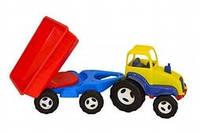 Трактор Multitoys с прицепом