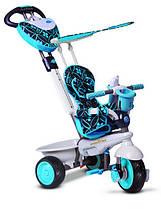 Трехколесный велосипед 4 в 1 Smart Trike Dream, цвет голубой