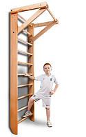 Шведская стенка с турником SportBaby - «Baby 1-220»