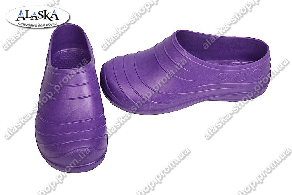 Галоши женские фиолетовые (Код: Б-06)
