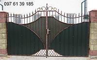 Ворота  кованые 12900