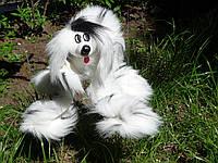 Собака марионетка. Игрушки марионетки производство опт. Серая, белая, розовая, долматин, темно-серая, подпал, фото 1