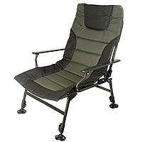 Кресло складное карповое Ranger SL-105 Wide Carp (720х850х990мм), зелёный/черный