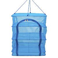 Сетка для сушки рыбы и продуктов Ranger New Line-5 (550x450x450мм), синяя