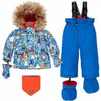 Комплект зимний для мальчика Deux par Deux N503 W19, цвет 589