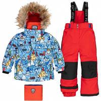 Комплект зимний для мальчика Deux par Deux N803 W19, цвет 722