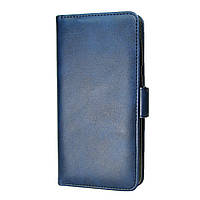 Чехол-книжка Leather Wallet для Xiaomi Redmi Note 7 / Note 7 Pro Синий