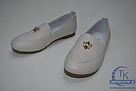 Garstuk туфли для девочки кожаные C03-X363 Размер:33,34,35,36,37,38