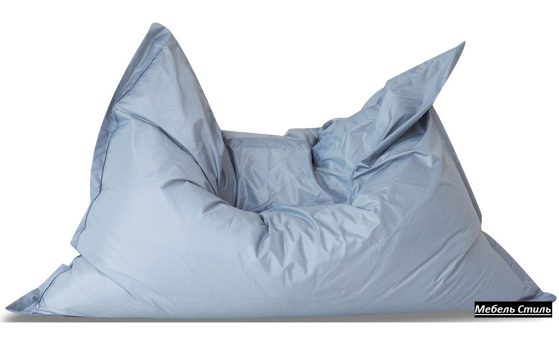 Пуф-мешок Подушка серый