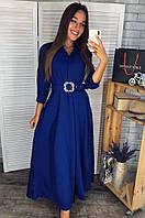 Платье женское 2783 электрик