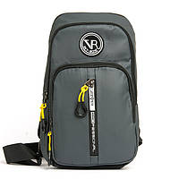 Мужская сумка-рюкзак SKYBOW 10392 grey