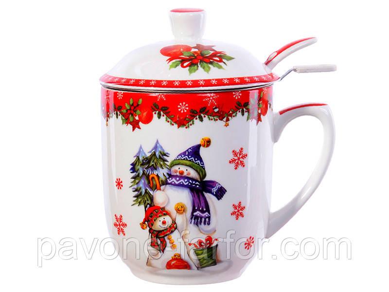 Чашка заварочная Новогодняя коллекция 985-078, фото 1