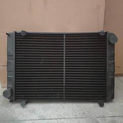 Радиатор ГАЗель 3302 с ушами 3 рядный медный до 1999 г.в. пр-во Иран Радиатор