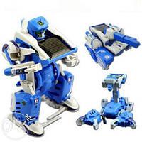 Робот-трансформер Solar Robot 3в1 на солнечной батарее