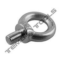 Болт с кольцом (рым-болт) М10x1.5 DIN 580 оцинкованный W1