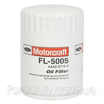 Фильтр масляный Ford Mustang 3.7, 5.0; Motorcraft FL500S