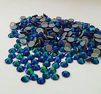 Стразы А+ Премиум, Montana AB (темно синий) SS20 (5,0 мм) термоклеевые. Цена за 144 шт., фото 1