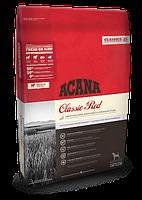 Корм Acana Classik Red Акана Класік Ред для собак всіх порід з ягням,телятиною та свининою 17  кг