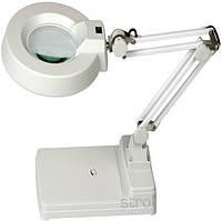 Настольная линза с подсветкой Quick 228BL, 5 диоптрии
