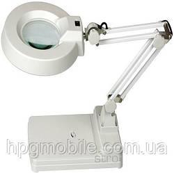 Настольная линза с подсветкой Quick 228BL, 8 диоптрии