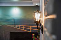Установка і підключення світильника настінного, бра
