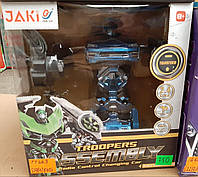 Робот-трансформер машина на радиоуправлении