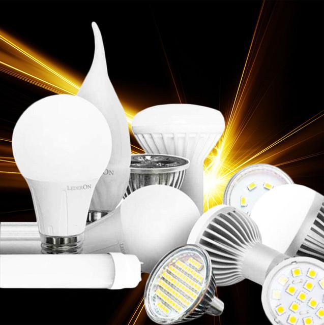 Лампы светодиодные led