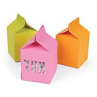 Нож для вырубки Sizzix Movers & Shapers L Die - Box, Milk Carton, 659196
