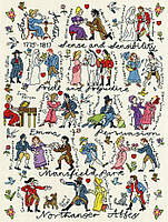 Набор для вышивания Bothy Threads XPS4 Historical Jane Austen