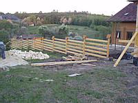 Виготовлення деревяних парканів, фото 1
