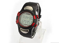 Стильные наручные часы Snow с подсветкой, шагомером, пульсометром, будильником