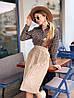 Спідниця, креп костюмка + обробка плісирована. Розмір 42-44, 44-46. Кольори різні.(1172), фото 2