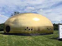 Золотая надувная палатка 14*8м