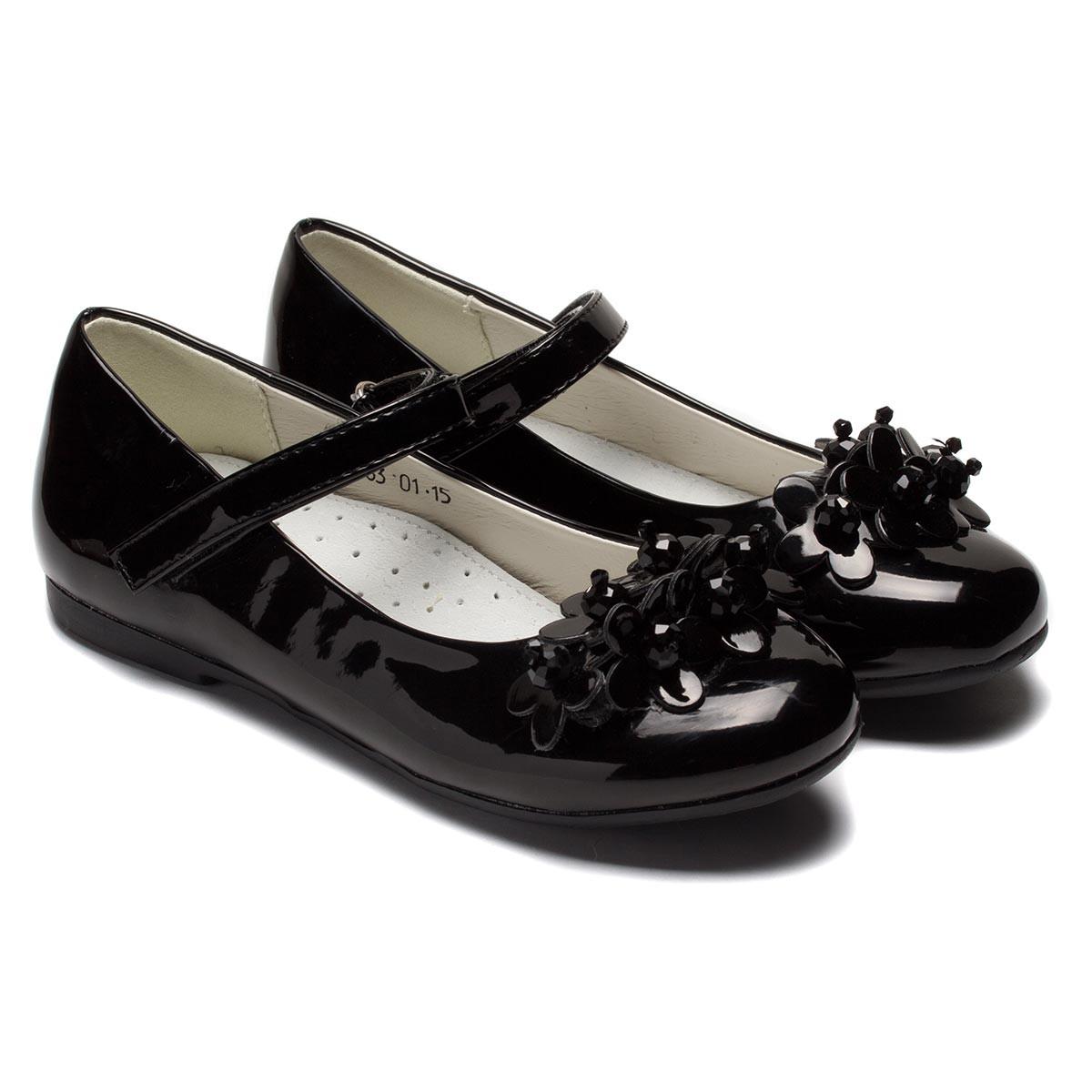 Лакированные туфли  Шалунишка для девочки, школьные, размер 31-36