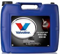 Масло трансмиссионное Valvoline HD AXLE OIL 80W90 GL-5, 20л