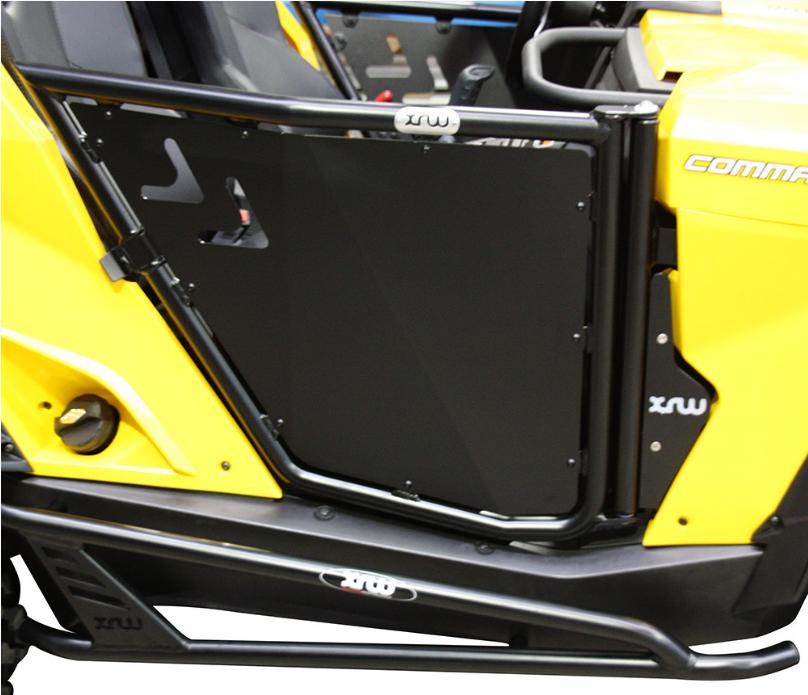 Алюминиевые двери XRW для квадроцикла Can-Am Commander 1000
