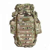 Тактический военный рюкзак 9.11 с отделением под карабин Мультикам