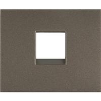 Лицевая панель телефонной Розетки RJ11 (арт.775938) Темна бронза Legrand Galea Life (771295)