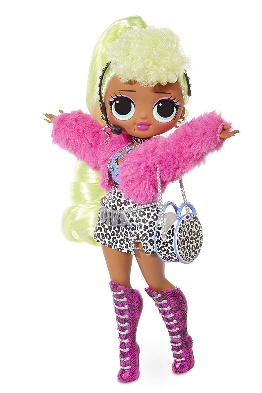 Большая модная кукла ЛОЛ Леди Дива L.O.L. Surprise! O.M.G. Lady Diva Fashion 20 Surprises