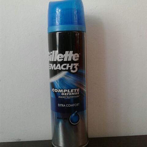 Гель для бритья мужской Gillette Mach3 extra comfort (Жиллетт Мак 3) 200 мл.