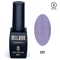 Гель-лак Milano 8 мл. №022⭐⭐⭐⭐⭐