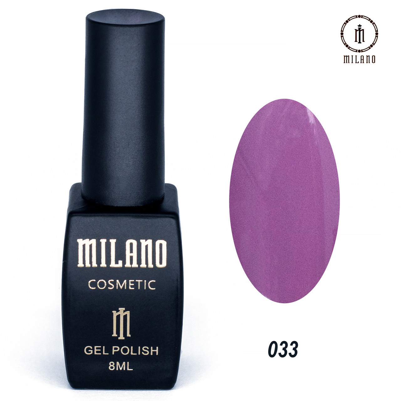 Гель-лак Milano 8 мл. №033⭐⭐⭐⭐⭐