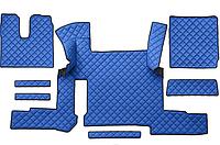 Резиновый коврик с защитными бортами MAN TGX автомат